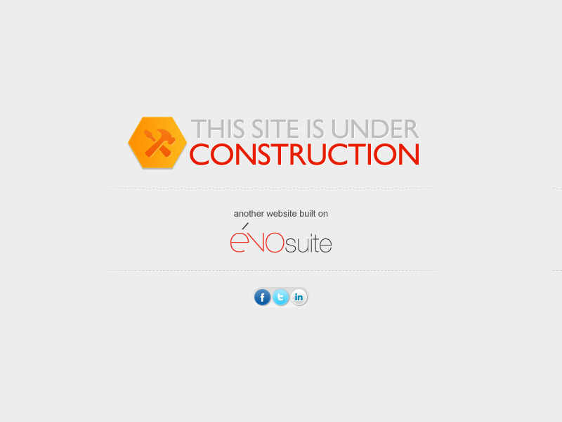The site is under construction - Another website build on évoSuite